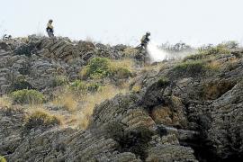 El Ibanat da casi por extinguido el incendio de Cala Torta que ha quemado 480 hectáreas