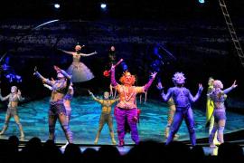 La 'Alegría' del Circo del Sol inunda el Palma Arena