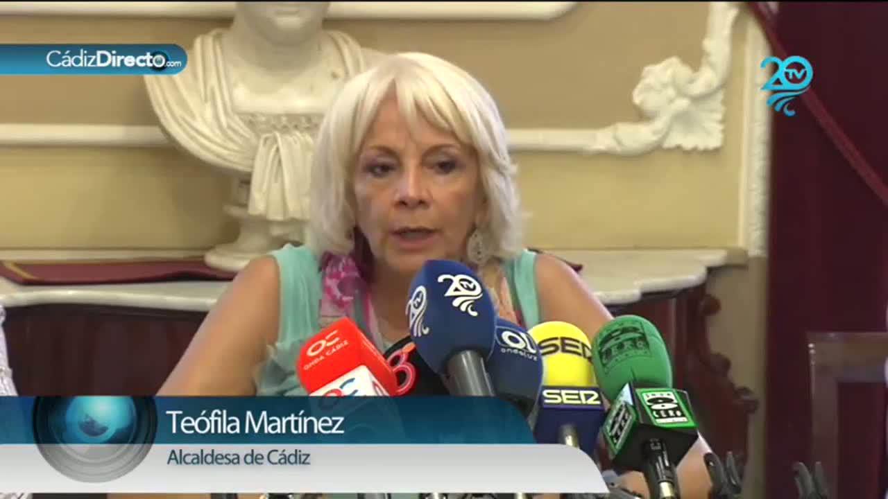 Teófila Martínez se lía con Internet