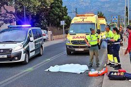 Muere atropellada una mujer de 71 años cuando cruzaba la carretera del Port de Sóller