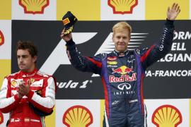 Alonso: «Ha sido aburrido porque no pude acercarme ni de lejos a Vettel»