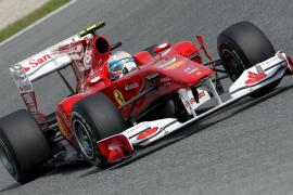 Alonso, cuarto en los entrenamientos libres de Montmeló