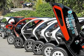 El Govern ya ha concedido 109 distintivos a coches eléctricos