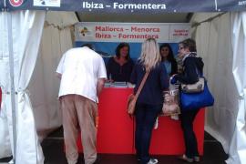 La ATB promociona la oferta cultural de  Balears en la 'Museumsuferfest' de Frankfurt
