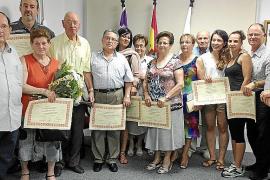 Entrega de los premios 'Arenalers de l'Any'