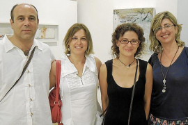 Joan Peix presenta su obra en la galería Dionís Bennàssar
