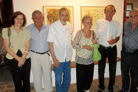 Lectura del pregón de la Nit de l'Art y exposición de Jaume Pinya en Can Prunera