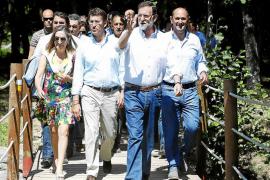 Rajoy ya prepara en Moncloa la apertura del nuevo curso político en Soutomaior