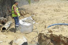 Vuelve a reventar la misma tubería de Ponent y deja sin agua a cinco barrios