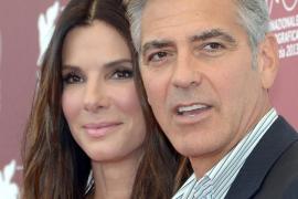 George Clooney y Sandra Bullock, primeras estrellas en Venecia