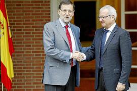 Valcárcel: Rajoy se compromete a hacer una financiación autonómica «más justa»