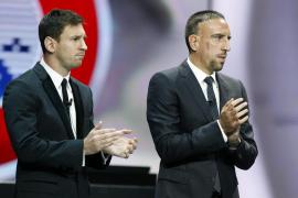 RIBÉRY, GALARDONADO CON EL PREMIO AL MEJOR FUTBOLISTA DE LA UEFA EN EUROPA