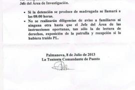 Polémica en la Guardia Civil de Calvià por una instrucción sobre detenidos de «raza negra»
