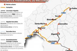 El Consell aprueba el proyecto de mejora de la carretera Llucmajor - Algaida por 10,4 millones