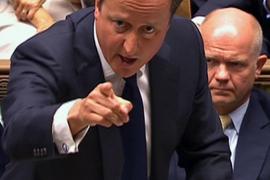 El Reino Unido no participará en una intervención en Siria