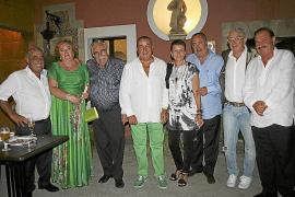 Bernat Quetglas celebra su onomástica entre amigos en Molí d'es Comte