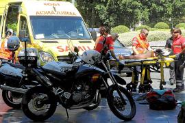 El acusado de apuñalar a un policía en Palma: «No soy culpable, lo dejo en manos de Dios»