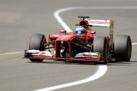 Alonso, dispuesto a recortar a Vettel en Monza