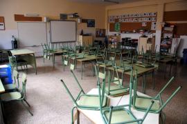 PALMA. EDUCACION. HUELGA DE ENSEÑANZA EN BALEARES.