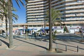 Las tiendas de Platja de Palma no podrán tener expositores en la calle
