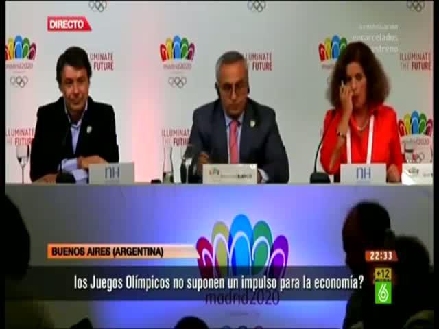 Ana Botella suspende en inglés