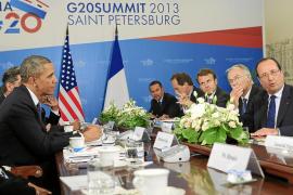 Obama logra el apoyo de la mitad del G20 para una respuesta 'contundente' en Siria