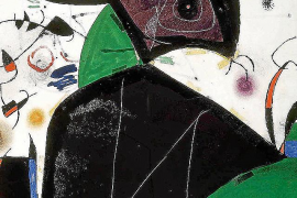 La policía apunta al hurto como principal línea de investigación de la obra de Miró