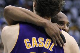 Los Lakers de Gasol consiguen la tercera victoria de la serie