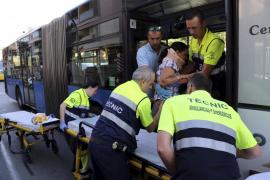 Diez heridos en un choque en Palma