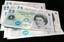 El Banco de Inglaterra estudia emitir billetes de plástico en 2016