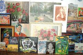 La policía localiza un Miró y un Picasso falsos en un 'compro oro' de Palma