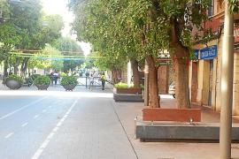 Cort quiere que la calle Blanquerna continúe siendo una vía peatonal