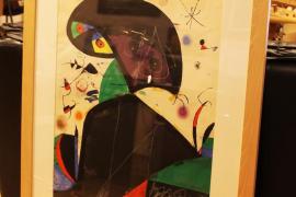 El cuadro extraviado de Miró aparece en una empresa de transportes