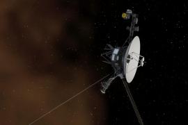 La sonda Voyager 1, el primer artefacto humano en salir del sistema solar