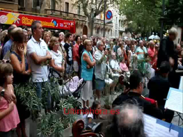 Protesta sinfónica en la Diada