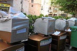 Cort no retirará los contenedores de la recogida neumática de momento