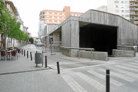 Los comerciantes, indignados por el cierre de parte del centro por obras