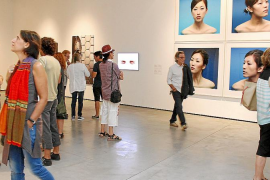 La exposición 'Reproductibilitat 1.0' «evoluciona» desde ayer en Es Baluard
