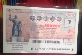 El próximo sorteo de lotería conmemora el Año Fray Junípero Serra