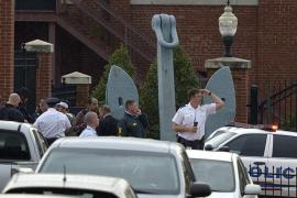 Varios muertos y heridos en un tiroteo en un edificio de la Armada en Washington