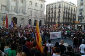 La huelga recibe el apoyo de varias concentraciones en Cataluña y Comunidad Valenciana