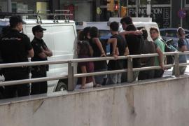 Enfrentamiento entre estudiantes y Policía