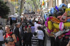 Sóller vive una Fira con una reducción en su oferta pero con más público que nunca