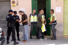 La policía se incauta de más de 500 plantas de marihuana en una casa de La Soledat
