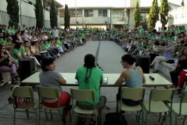 Macromanifestación de los docentes el 29 de septiembre para rechazar el TIL