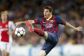 4-0. Messi saca al Barça de la apatía con un nuevo triplete