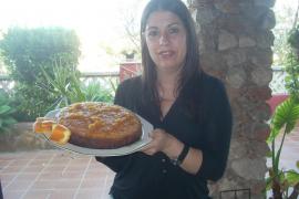 Coca glaseada de naranjas mallorquinas
