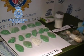 La policía interviene 8.000 'éxtasis' que iban a ser vendidos a jóvenes en Palma