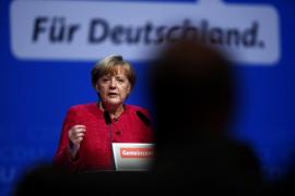 Merkel pide el voto para «una Alemania fuerte y respetada en Europa»