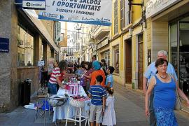 Los comerciantes dinamizan la ciudad con sus actividades y muestras